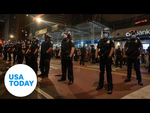 Police union holds news conference in New York   USA TODAY