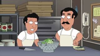 Family Guy - Pizzaservice ruiniert Salat