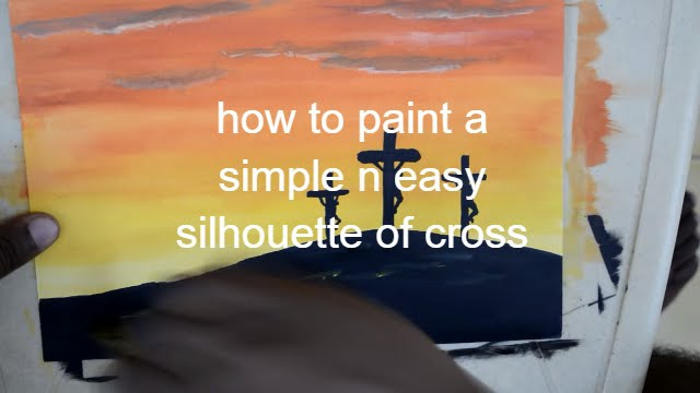 Easy Simple Canvas Painting