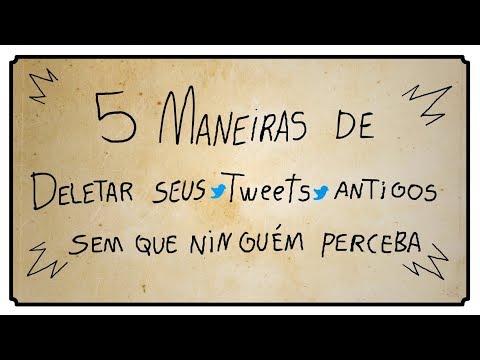 5 MANEIRAS DE DELETAR SEUS TWEETS ANTIGOS SEM QUE NINGUÉM PERCEBA