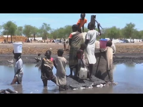 Lack of clean water endangers displaced South Sudanese