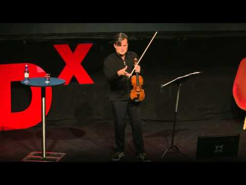 New music -- old tools: Peter Sheppard Skærved TEDxBergen