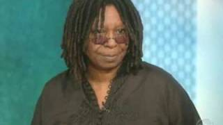 the view talks about the death of patrick swayze  whoopi gets emotional