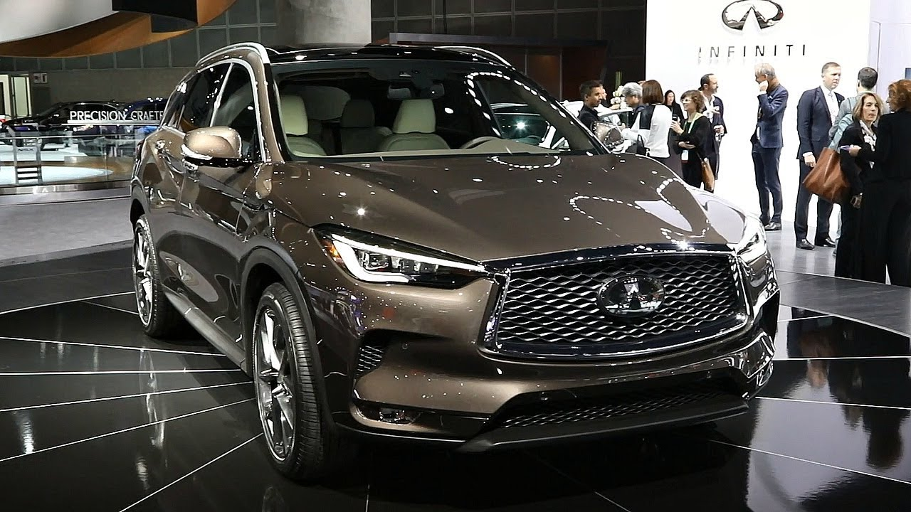 Infiniti QX Los Angeles Auto Show YouTube - Infiniti car show