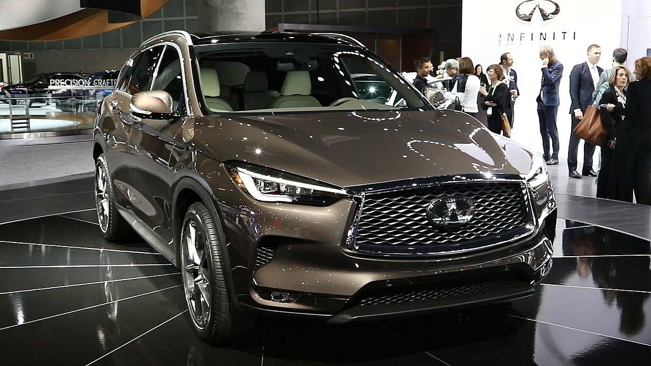 2019 Infiniti Qx50 2017 Los Angeles Auto Show