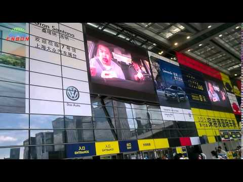 P10 outdoor full color LED video display for fixed installation