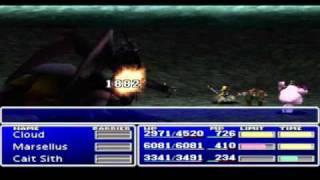 Final Fantasy 7 Part 144 Boss: Ultima Weapon