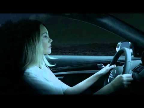 2014 Audi S8 Matrix LED headlight demo