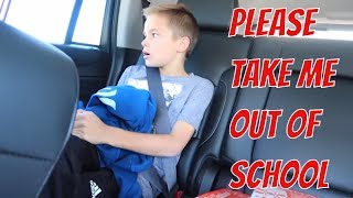 CHECKING OUT OF SCHOOL | THE LEROYS