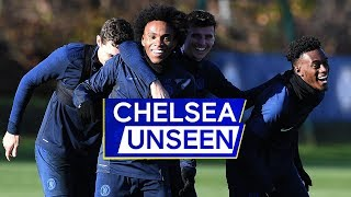 Willian's Epic Double Nutmeg On Fikayo Tomori & Billy Gilmour ⚽️ | Unseen