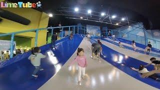 라임이의 베스트키즈 서울랜드 실내 놀이터에서 신나게 놀자!  LimeTube & Toy 라임튜브