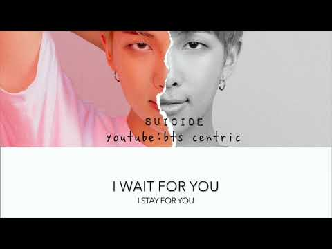 방탄소년단  BTS RM Suicide English Lyrics