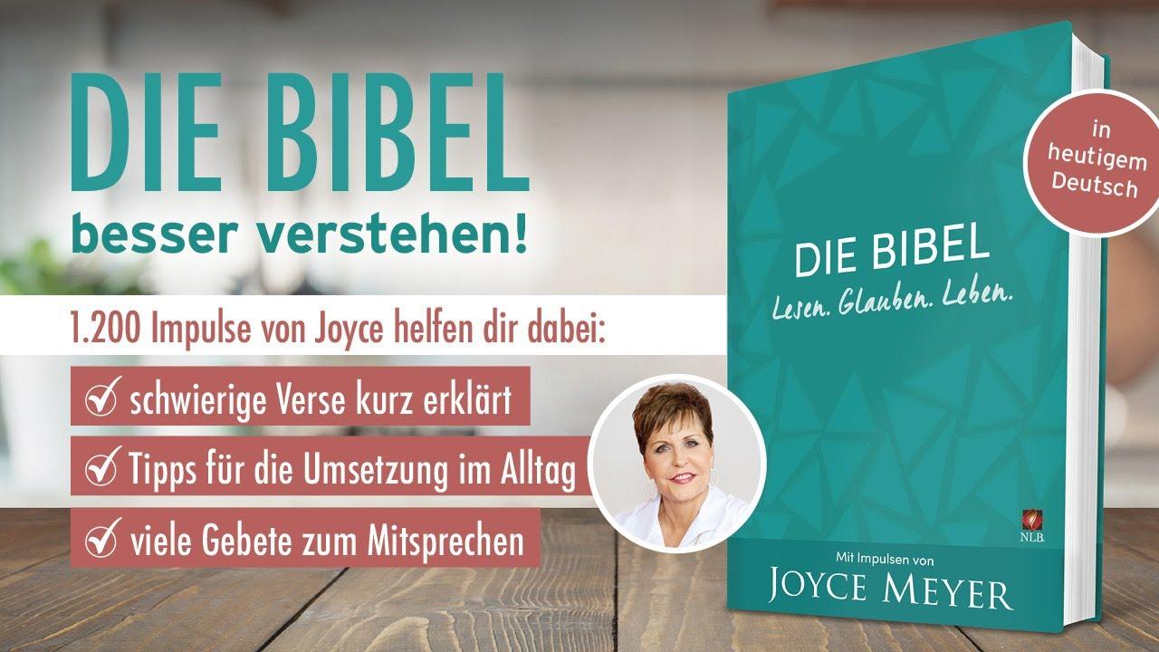 Die Bibel mit Impulsen von Joyce Meyer – Lesen. Glauben. Leben. – Joyce Meyer Ministries Deutschland