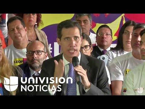 Juan Guaidó participa en evento por los 5 años de la detención de Leopoldo López