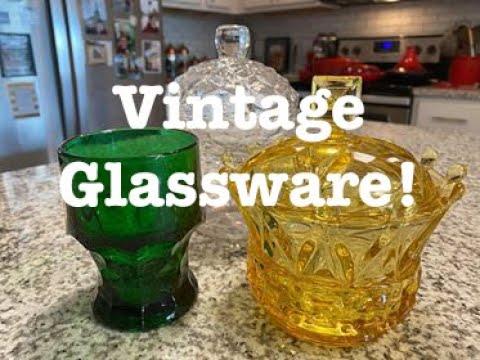 Vintage Glassware!