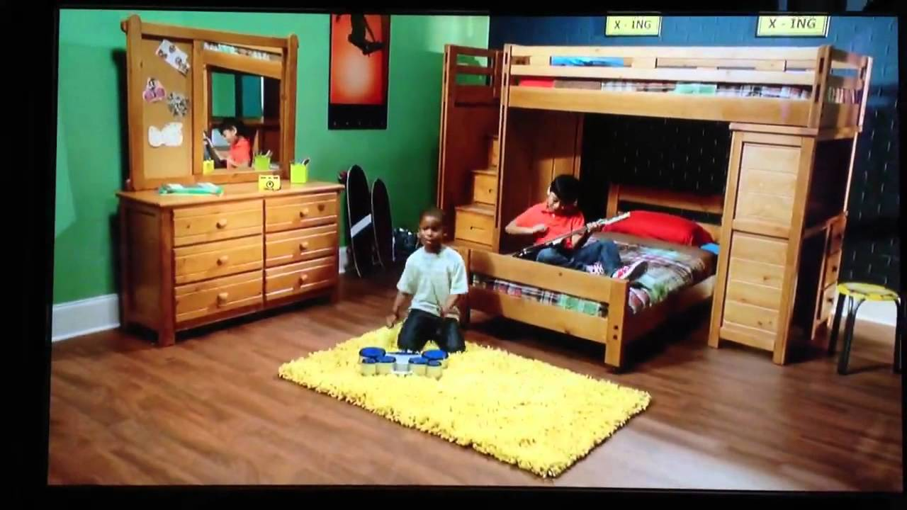 Rooms to go kids commercial youtube for Room to go kid