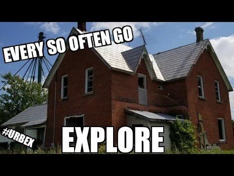Exploring An Abandoned House Near Ottawa