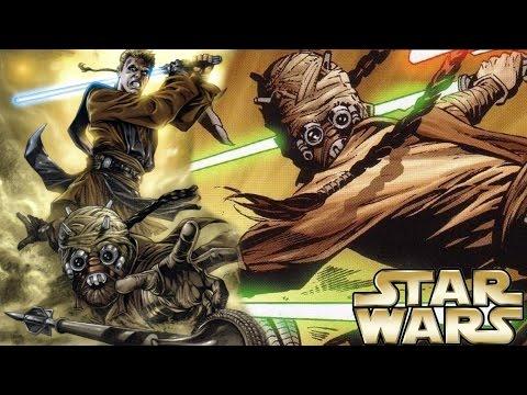 How Anakin Tried to Kill a Tusken Raider Jedi Master - Star Wars Explained