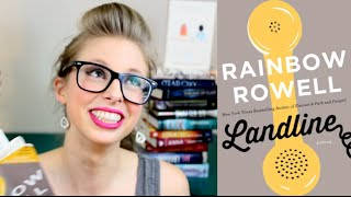 LANDLINE BY RAINBOW ROWELL | booktalk with XTINEMAY Thumbnail
