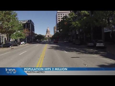 Austin metro area hits 2 million population