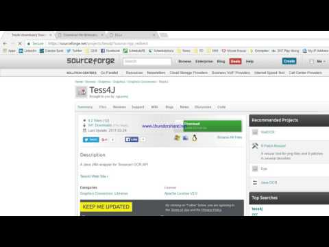 How to set up Tess4j in Eclipse