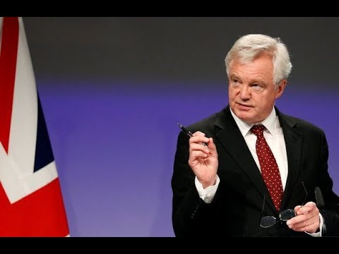DAVIS EXPECTS 'EXCITING' BREXIT NEGOTIATIONS TO GO DOWN TO THE WIRE