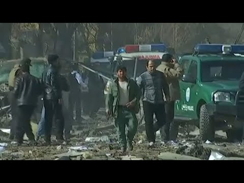 At least 40 killed in Kabul suicide bombing