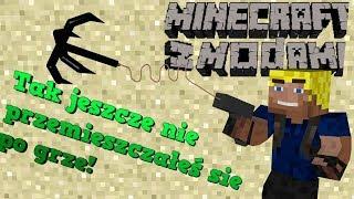 Minecraft z modami #131 - Nowy sposob poruszania sie!   Graplin hook