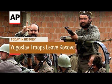 Yugoslav Troops Leave Kosovo - 1999 | Today In History | 20 June 17
