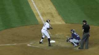 [NYY] Alfonso Soriano's batting (アルフォンソ・ソリアーノのバッティング)_2013092401