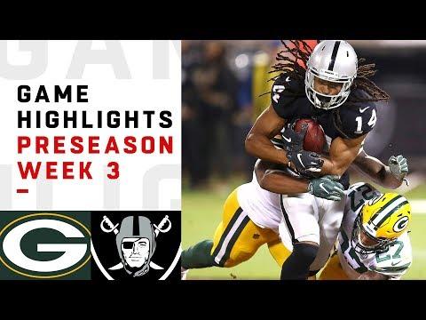 Packers vs. Raiders Highlights | NFL 2018 Preseason Week 3
