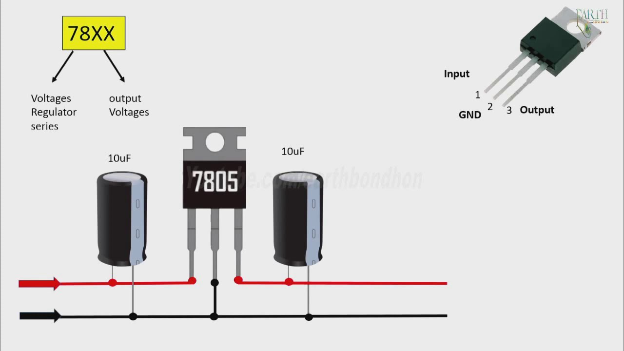 How To Make A Regulator Voltages Regulator Transistor