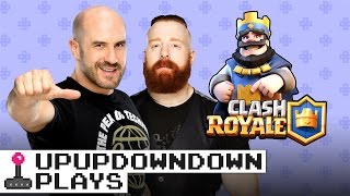 CESARO suffers through SHEAMUS' crazy Clash Royale deck!!! Clash with Cesaro #5 — UpUpDownDown Plays