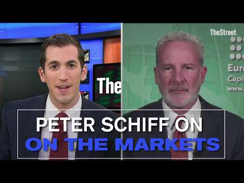 Peter Schiff Slams the Federal Reserve and U.S. Stocks, Calls Bitcoin a Bubble