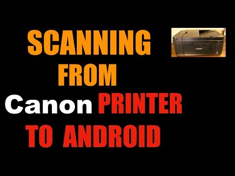Canon MX492 Scanning With Android