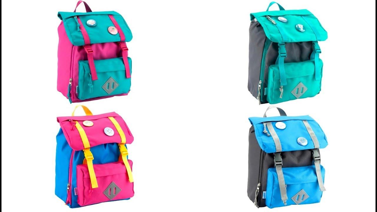 c39d99274aa5 Обзор дошкольного рюкзака #Kite модель 543 коллекции 2018 года - YouTube