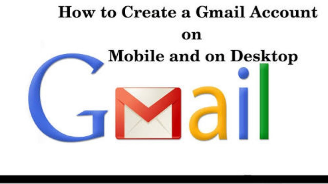 gmail account - 1280×720