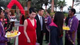 Burj Al Arab Hotel, Jumeirah welcomes Chinese New Year 2013 Video