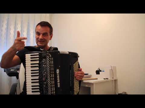 Eso Balić-Svijet muzike i ucenja sviranja harmonike - 6 čas
