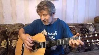 Урок игры на гитаре - бой