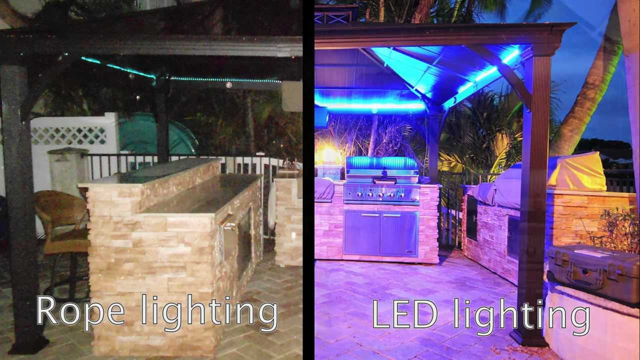 Outdoor Multicolor Led Lighting 12 Meter Flexible Light Kit