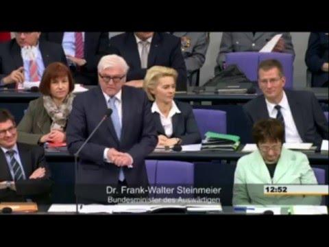 Deutschland muss mit Frankreich in den Krieg ziehen - Außenminister Steinmeier (antikrieg TV)