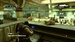 Gears of war 3 Guardia en De Compras ¡Casi Dos Clutch en una Partida!