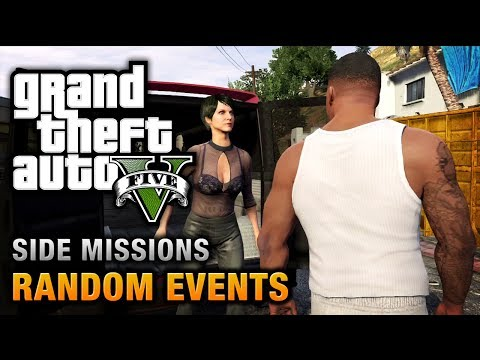 GTA 5 - All Random Events