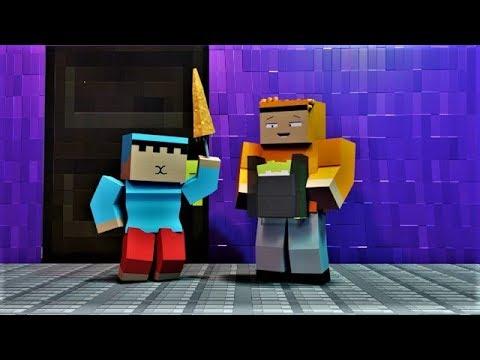 Animasi Nopal - Lagu Semangat Sekolah yang Aneh! ( Minecraft Animation )
