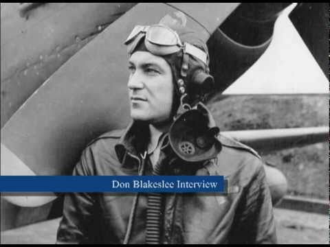 Colonel Don Blakeslee Interview - 4th Fighter Group Part 3
