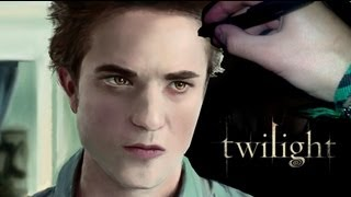 Twilight DRAWING - Robert Pattinson