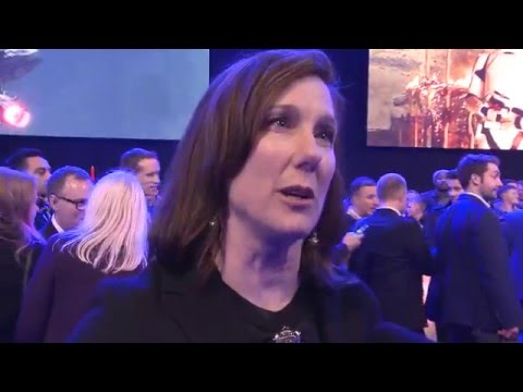 Kathleen Kennedy Producer Star Wars: The Force Awakens