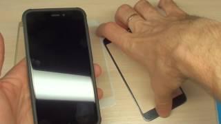 Защитное стекло с мягкими краями для Xiaomi Redmi 4x 3D (на весь экран) обзор новый
