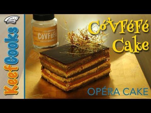 Opera Cake Recipe | Covfefe Cake for Donald Trump #covfefe